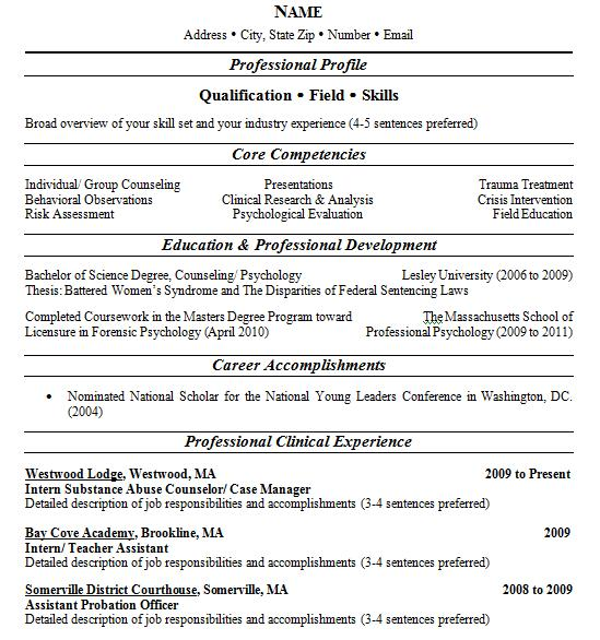 example resume  multiple page resume example